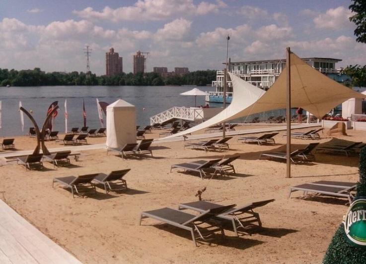 Пляжи Москвы
