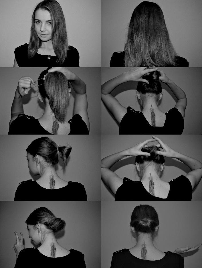 Прически для волос по плечи фото пошагово