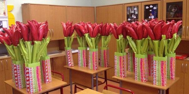 Подарок учителю на 8 марта от класса