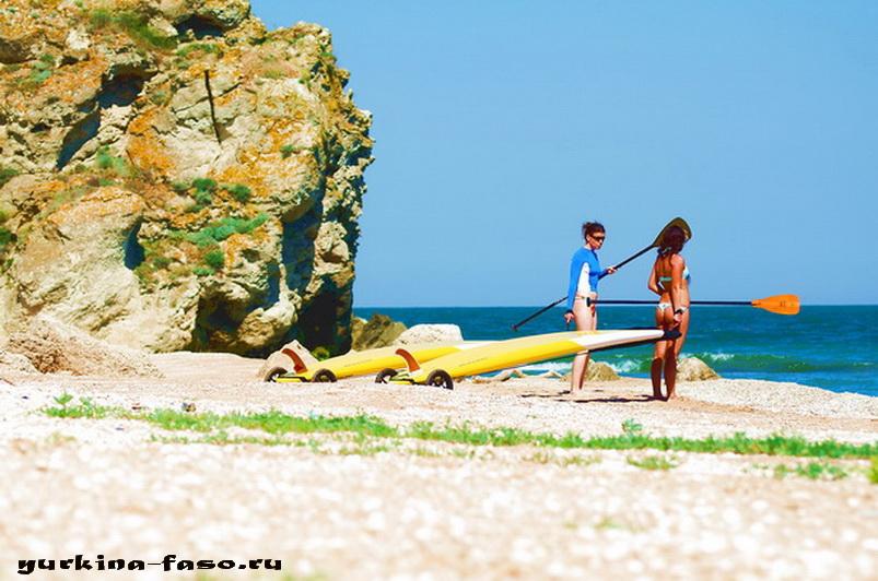 Пляж море в крыму фото ню