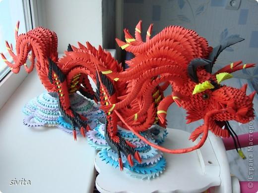 Поделка на новый год дракон