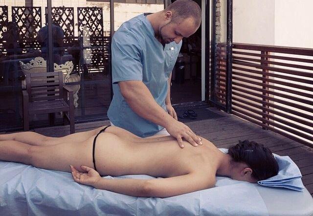 массаж куни фото