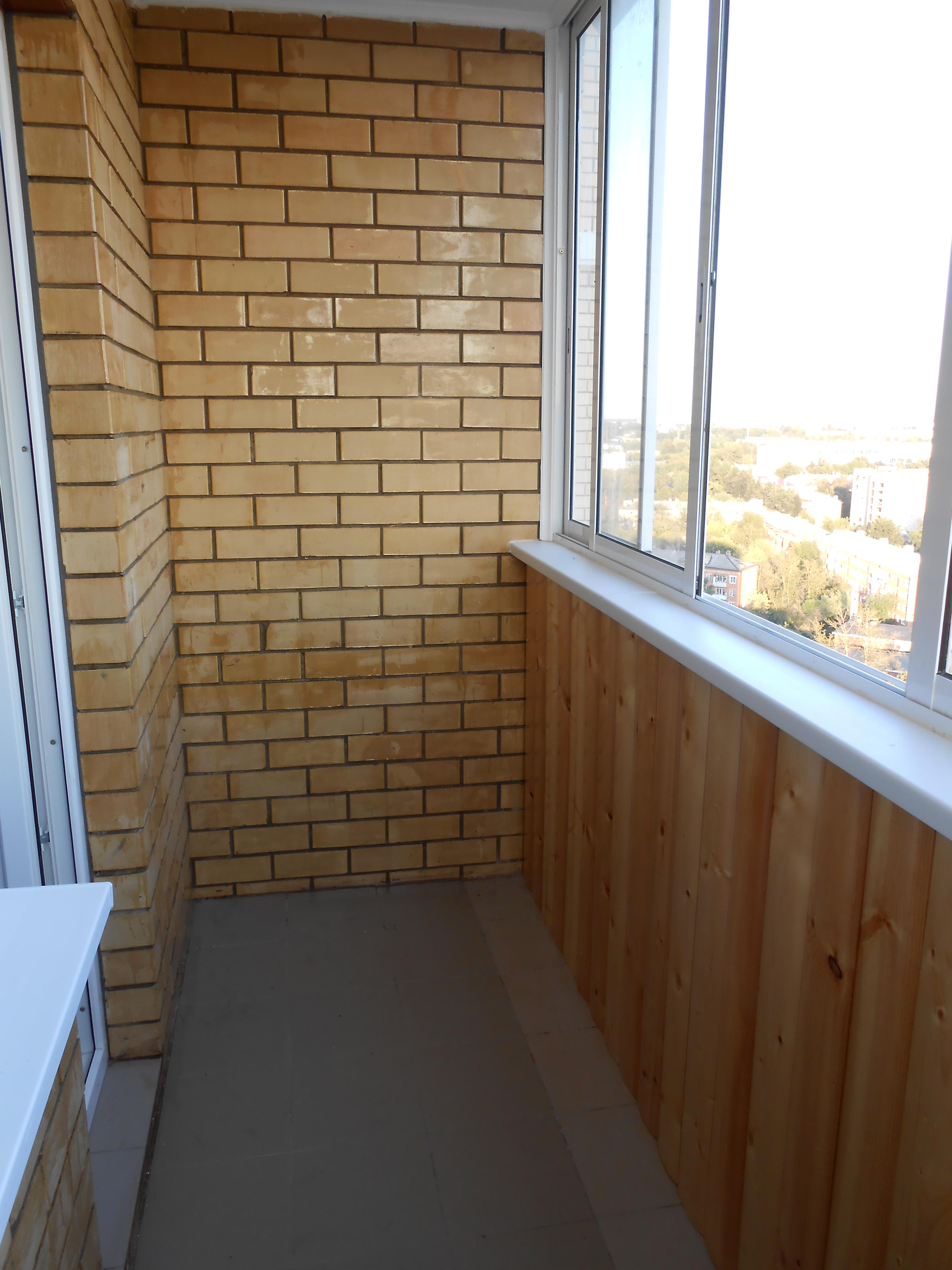 Цены ремонт балкона или лоджии качественно и недорого в моск.