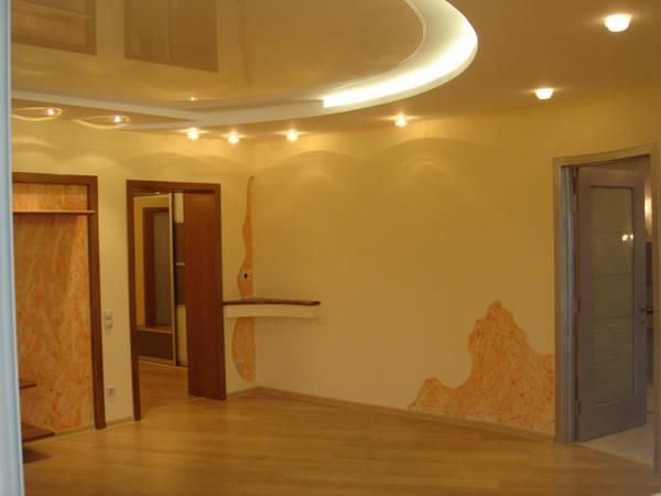 Внутренняя отделка стен. схемы потолков из гипсокартона.