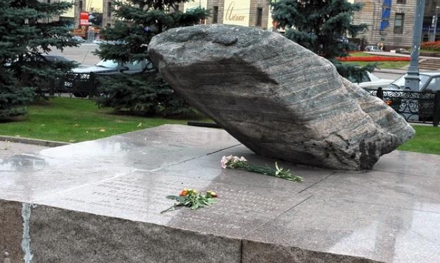В столице России проходит акция памяти жертв политических репрессий «Возвращение имён»