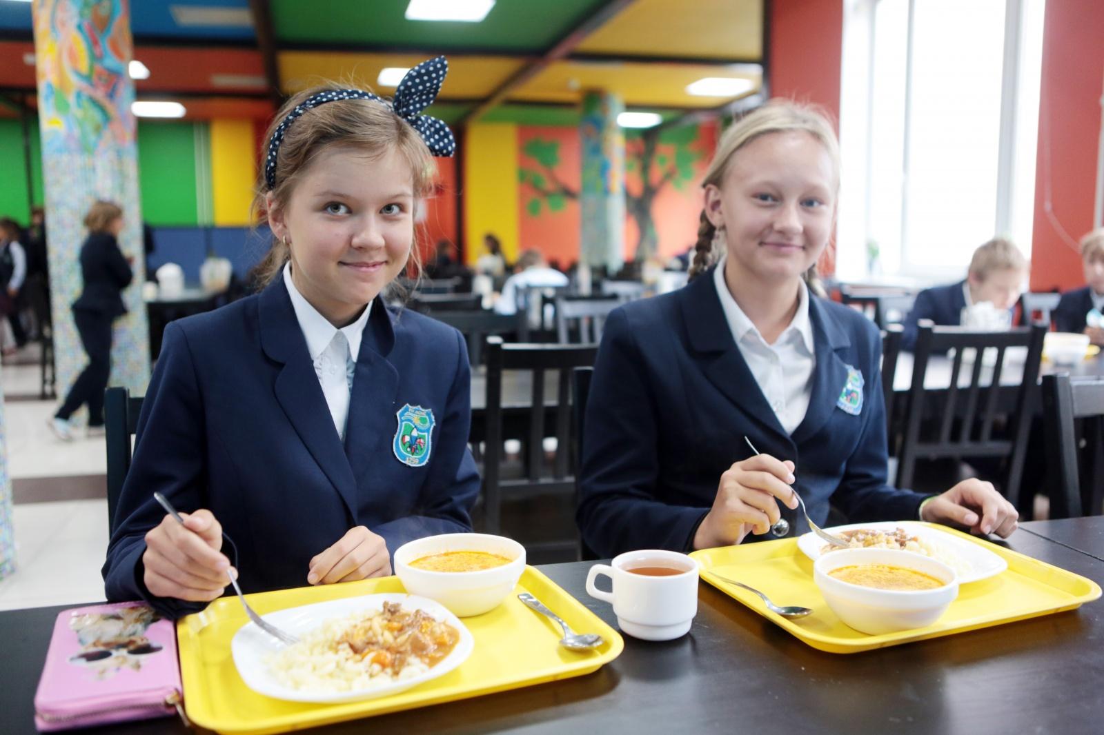 Родители московских учащихся смогут планировать школьное меню через телефон