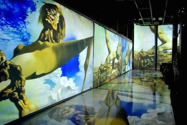 Выставка Дали и Живые полотна